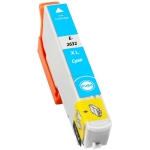 Tinte ersetzt Epson 26XL / cyan T2632 , 15ml
