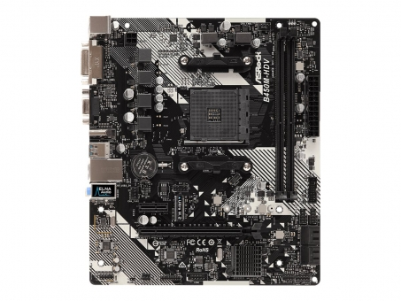 MSI B450M-A PRO MAX Skt.AM4 , DDR4 , Gigabit-LAN , DVI/HDMI, M.2, USB3.1