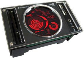 Aerocool Coolwatch FAN Controller ,schwarz *** Einzelstück