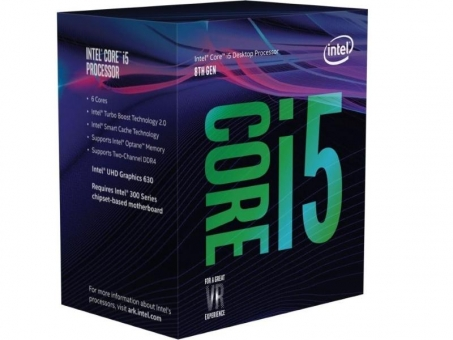 INTEL Core i5-9500 / 6x 3,0Ghz bis 4,4 GHz LGA1151 9MB Cache BOX