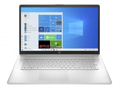 "17,3"" Full-HD HP 17 Intel Core i3-1115G4, 8GB, 256GB SSD, WLAN-AC, Bluetooth, Windows10, silber"