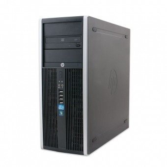 PC HP Elite 8300 i5-3570 3,4GHz / 8GB / 256GB SSD / 500GB HDD / DVDRW / USB3.0 / Windows 10 Pro, gebraucht