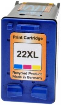 Tinte Kompatibel HP Nr.22XL (C9352) farbe ( PSC1410, F370, F380 ) 21ml