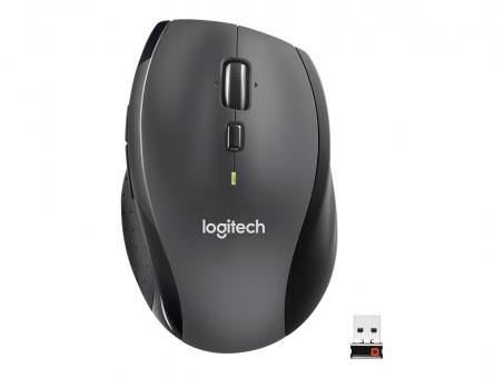 Logitech Wireless Marathon Maus M705, charcoal