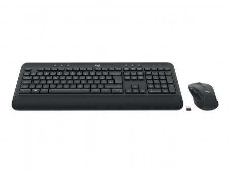 Logitech MK545 Advanced - Tastatur und Maus Set - kabellos (wireless) - 2.4 GHz - Deutsch
