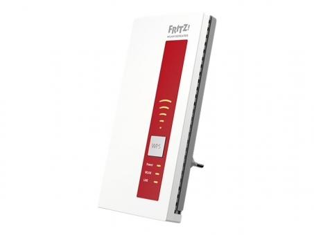 AVM FRITZ! WLAN Repeater 2400 WLAN AC bis 1733MBit + 600MBit/s + 1x Gigabit LAN