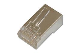 Netzwerk Stecker RJ-45 / Cat6 geschirmt