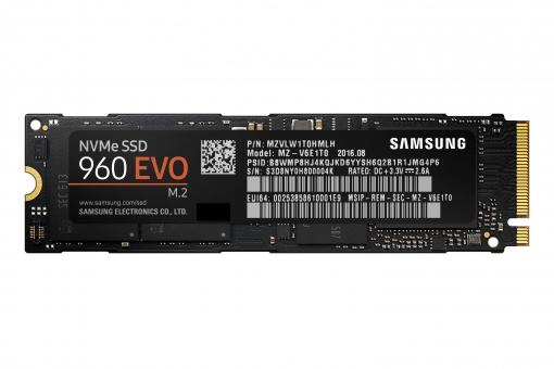 SSD 250GB Samsung 960 Evo Basic PCIe / M.2 , 3200MB/s lesen , 1500MB/s schreiben